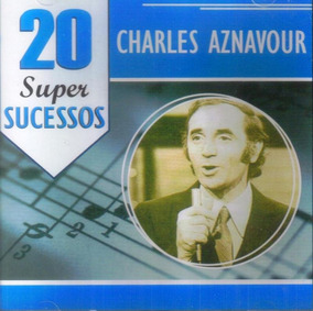 Charles Aznavour 20 Super Sucessos - Cd Jazz