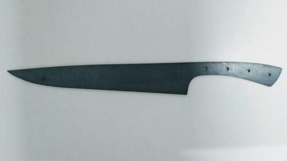 Lamina Pronta Cutelaria Aço 1070 3mm Espessura 12 Polegadas