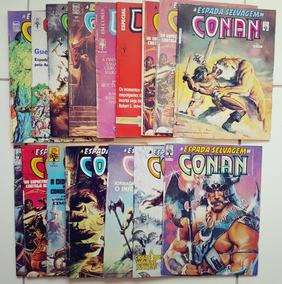 Super Lote A Espada Selvagem De Conan Editora Abril