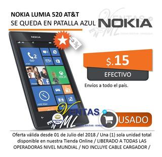 Nokia Lumia 520 At&t Se Queda En Azul | 10
