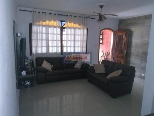 Sobrado Com 3 Dormitórios À Venda, 196 M² - Parque Continental Iii - Guarulhos/sp - Ai18565
