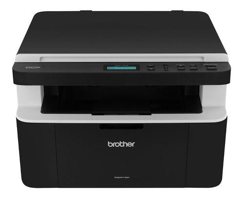 Impressora multifuncional Brother DCP-1 Series DCP-1602 110V preta e branca