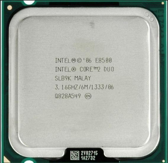 Processador Intel Core 2 Duo E8500 3,16ghz