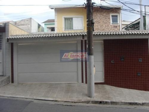 Sobrado Residencial À Venda, Jardim Bom Clima, Guarulhos - So0004. - Ai7