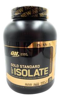 Proteina Gold Standard 100% Isolate Choco 76 Serv Envio Full