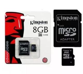 6 Cartao De Memoria Kingston Micro Sd - 8 Gb - Sdc - Class 4