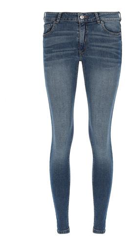 Imagen 1 de 7 de Pantalón De Mezclilla Super Skinny De Mujer C&a (3009203)