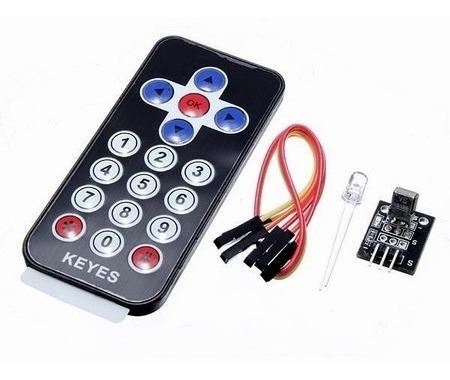 Kit Controle Remoto Ir + Receptor Ir + Led - Arduino