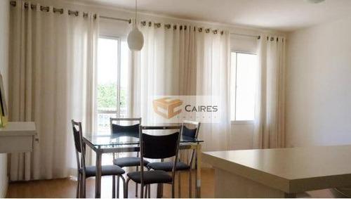 Apartamento Com 3 Dormitórios, 75 M² - Venda Por R$ 470.000,00 Ou Aluguel Por R$ 2.300,00/mês - Santa Genebra - Campinas/sp - Ap4382