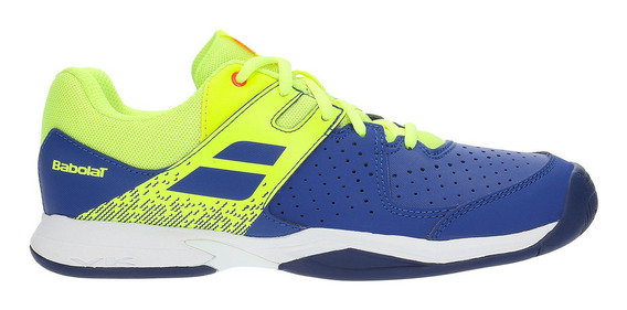 Tênis Babolat Pulsion All Court Jr. Azul E Amarelo