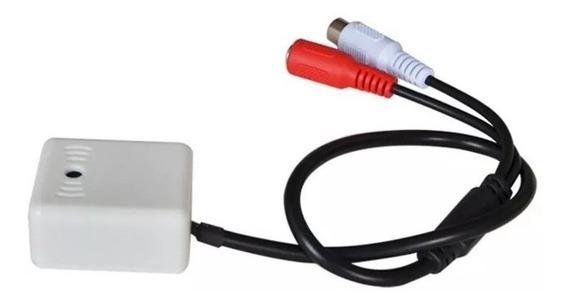 Microfone Amplificado Para Câmera De Cftv Dvr