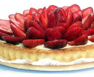 Tarta De Frutillas Tartas Frutales,tortas Mesa Dulce