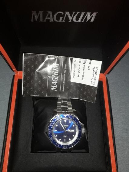 Relógio Masculino Magnum Automático Original