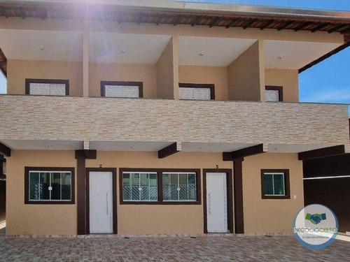 Imagem 1 de 12 de Sobrado Com 2 Dormitórios À Venda, 50 M² Por R$ 240.000,00 - Jardim Imperador - Praia Grande/sp - So0076