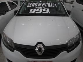 Renault Logan 1.6 Expr. Zero De Entrada + 60 X 999,00 Fixas