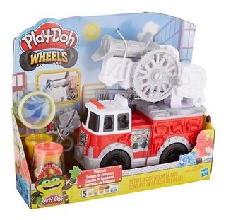 Play Doh Camion De Bomberos Wheels 280 Gr Hasbro