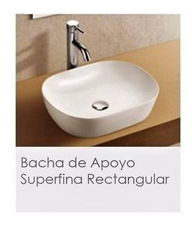 Bacha De Apoyar Rectangular Pringles - Ricardo Ospital