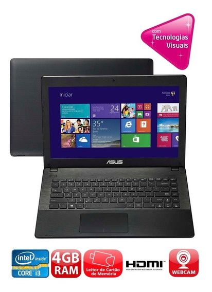 Notebook Asus X451c Core I3-2375 4gb Hd 500gb 14 Hd