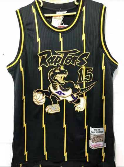 Carter #15 Toronto Raptors Bordado Premium - A Pedido