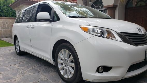 Toyota Sienna 2013 3.5 Xle Piel Mt