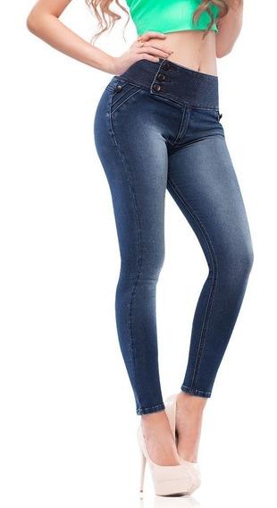 Jeans Dama Casual Seven Eleven Comodos A La Cintura Msi