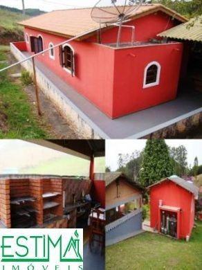 02044 - Sitio 5 Dorms. (2 Suítes), Centro - Santa Branca/sp - 2044