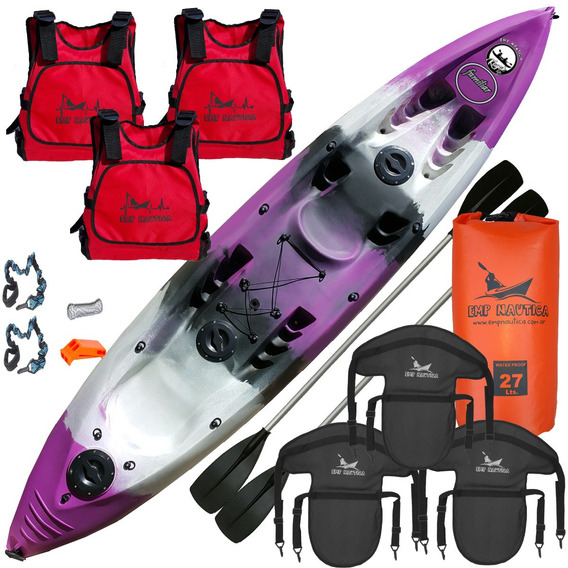 Kayak Familiar By Emp Nautica Combo Triple Full Hotsale