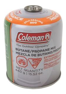 Tanque Butano/propano 440g Para Cocinas Camping Coleman
