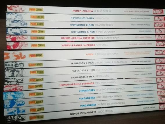Revistas Encadernadas Marvel - 15 Volumes