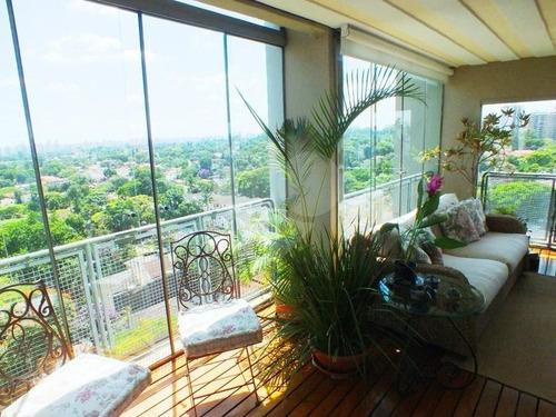 Apartamento Com 325m2 Em Andar Alto! Estuda Permuta! - 375-im62923