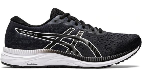 Zapatillas Asics Gel Excite 7 Running Training Hombre Negra