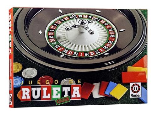 Imagen 1 de 7 de Juego Ruleta Club Ruibal Clásicos Playking