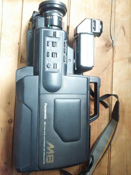 Camera Filmadora Profissional Antiga Panasonic M8