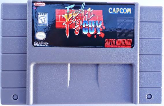 Jogo Final Fight Guy Super Nintendo Snes Cartucho Capcom