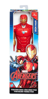 Avengers Figura De Accion Titan Hero Iron Man 30 Cm