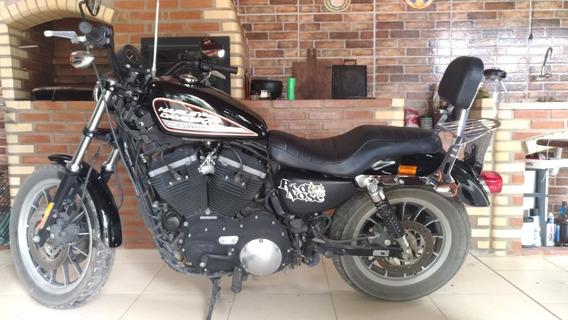 Harley Davidson Sportster Xl 883r 2011 Preta / Fosco
