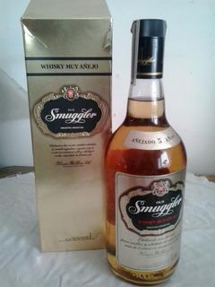 Whisky Old Smuggler - Etiqueta Dorada - 1000 Ml