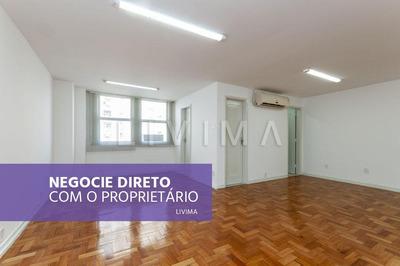 Sala Comercial 53m2 Para Alugar No Centro - Rj - Sa0117