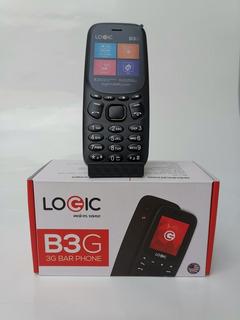 Logic 3bg Teléfono Básico Liberado 3g