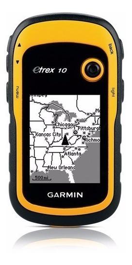 Gps Garmin Etrex 10 - Revenda Autorizada 1 Ano Garantia Novo