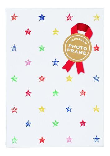 Imagen 1 de 2 de Fujifilm Álbum De Fotos Acordeón Estrellas Para Instax Mini