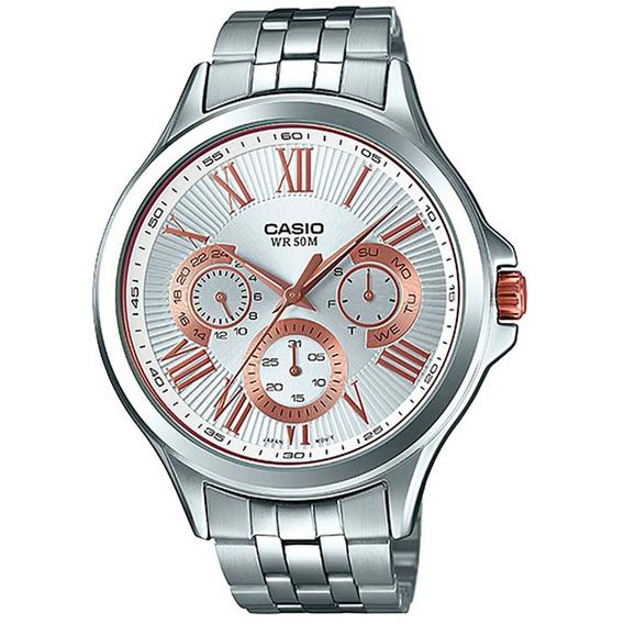Relógio Casio - Clássico - Prata - Mtp-e308d-7avdf
