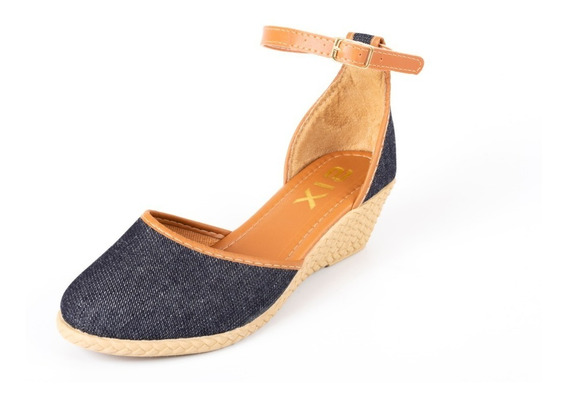 Sandalias Femininas Sapato Salto Anabela Sapatteria 040701