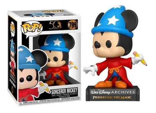 Figura Funko Pop, Apprentice Mickey - Disney Archives - 799