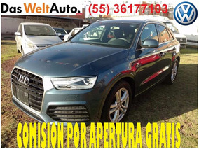 Audi Q3 Front, Stronic, Aire,electrico, Rines, 5p. 2016