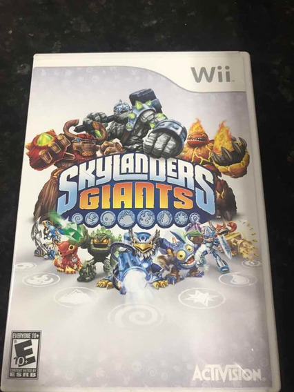 Jogo Nintendo Wii Skylanders Giants Original Mídia Física