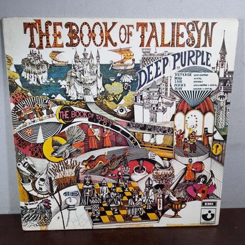 Imagem 1 de 10 de Vinil Lp Deep Purple The Book Of Taliesyn
