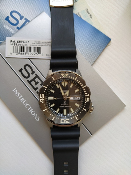Relógio Seiko Automático Monster Srpd27