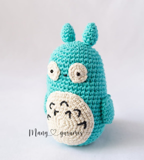 Muñeco Tejido Totoro Manygurumi