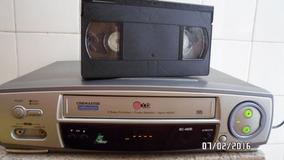 Video K7 Lg 5 Cabeças, Vintage, Cinemaster Bc-490b Lindo!
